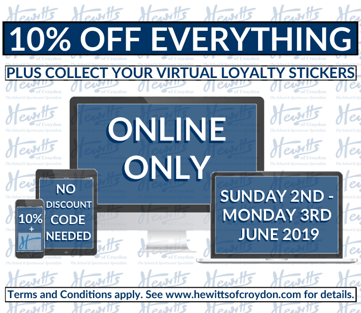 10% OFF EVERYTHING ONLINE
