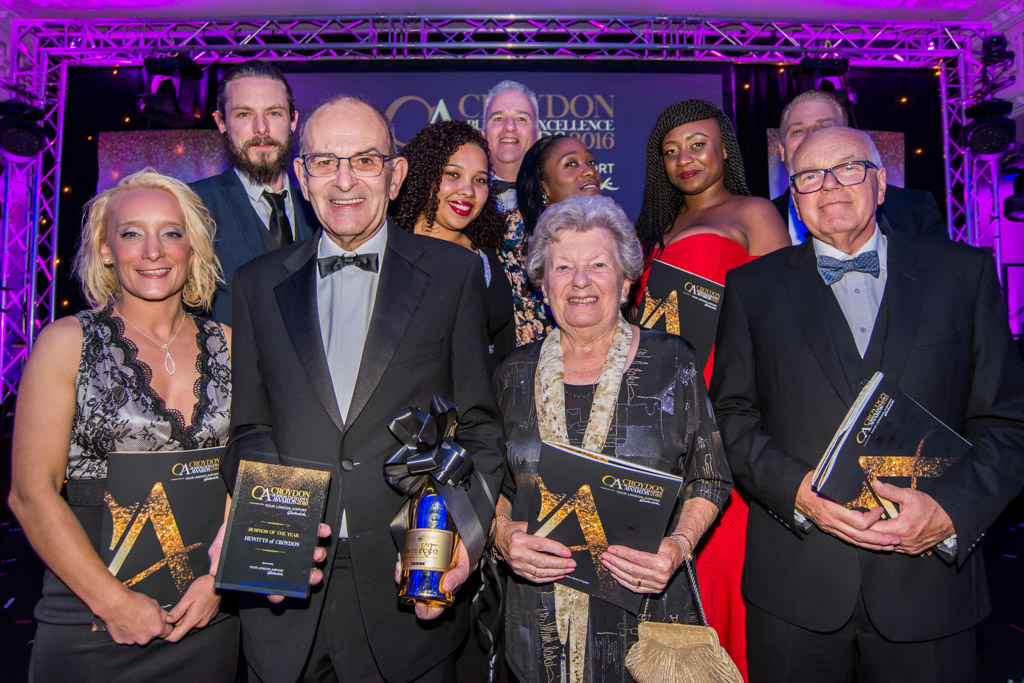 WINNERS OF CROYDON BUSINESS AWARD BUSINESS OF THE YEAR 2016