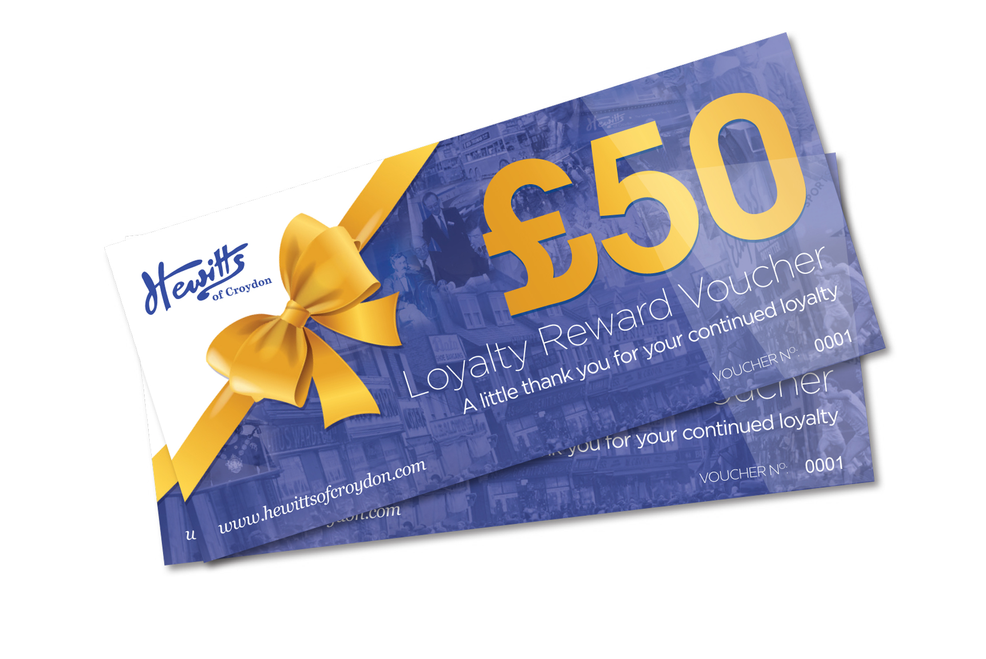 8 CHANCES TO WIN A £50 VOUCHER!