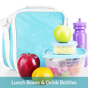 lunch boxes drink bottles