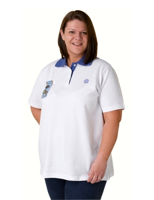 Adult Leaders Polo Shirt White