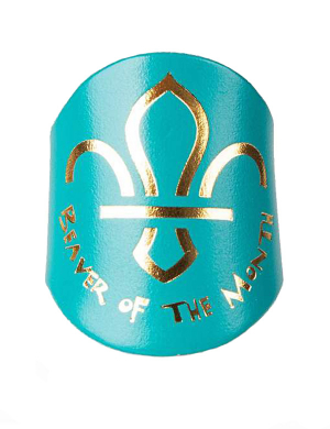 Beavers Leather Woggle - Beaver of The Month