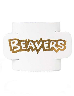 Beavers Leather Woggle - White