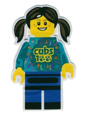 Cubs100 Minifig Badge Girl