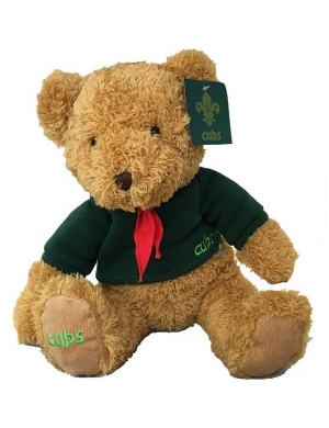 Cubs Bramble Bear with Certificate