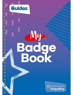 Guides A5 My Badge Book