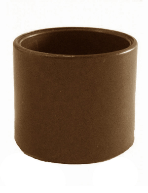 Plastic Woggle - Brown