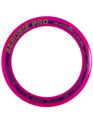 Aerobie Pro Flying Ring Fluorescent Pink
