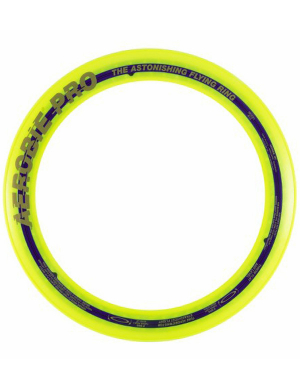 Aerobie Pro Flying Ring Fluorescent Yellow