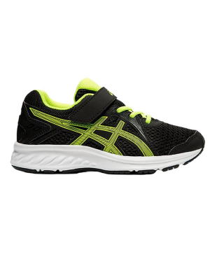 Asics Jolt 2 PS Black/Safety Yellow