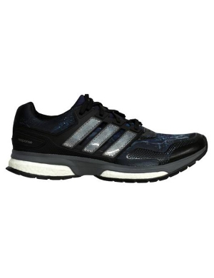 Adidas Men's Response Boost 2 Graphic Black/Silver