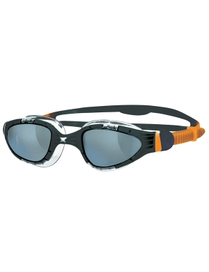 Zoggs Aqua-Flex Smoke Lens Black/Orange