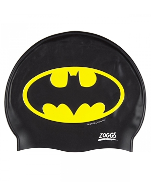 Zoggs Junior Silicone Swim Cap Batman