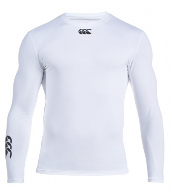 Canterbury Cold Baselayer Top Men's White (Clearance)