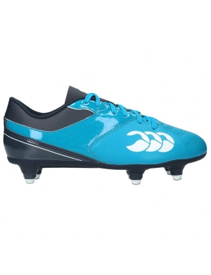 Canterbury Junior Phoenix SG Rugby Boots Blue