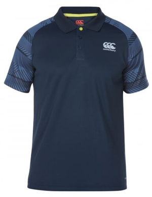 Canterbury Senior VapoDri Graphic Poly Polo