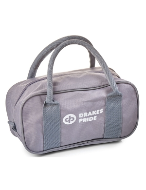 Drakes Pride 2 Bowl Zip Bag Grey