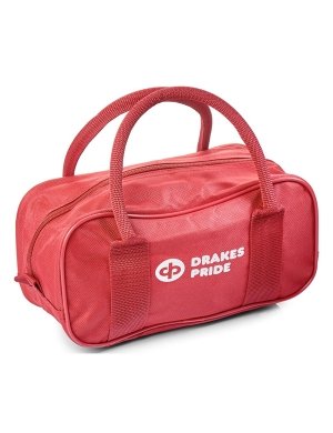 Drakes Pride 2 Bowl Zip Bag Red
