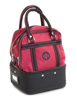 Drakes Pride 4 Bowl Mini Bag Burgandy