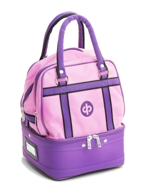 Drakes Pride 4 Bowl Mini Bag Pink