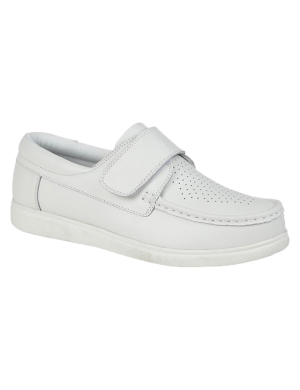 Dek Bowls U9529G Velcro Shoes White