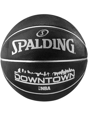 Spalding NBA Downtown Outdoor Basketball Black