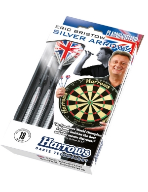 Harrows Eric Bristow Silver Arrow Steel Tip