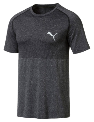 Puma evoKNIT Basic Tee Cotton Black