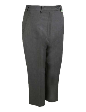 Emsmorn Bowls Ladies Cropped Trousers Grey (Clearance)