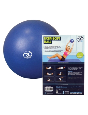 Fitness-Mad Exer-Soft Ball Blue 7