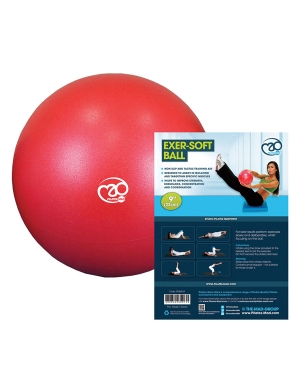 Fitness-Mad Exer-Soft Ball Red 9