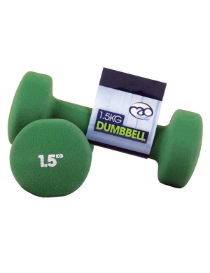 Fitness-Mad Pair of 1.5Kg Neo Dumbbells