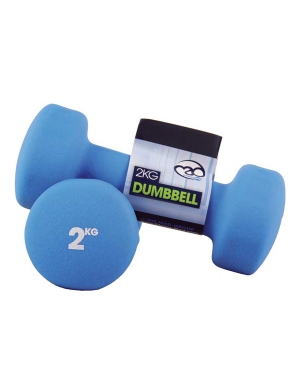 Fitness-Mad Pair of 2Kg Neo Dumbbells