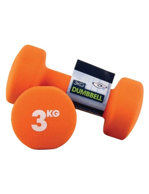 Fitness-Mad Pair of 3Kg Neo Dumbbells