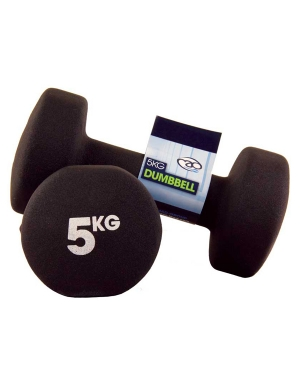 Fitness-Mad Pair of 5Kg Neo Dumbbells