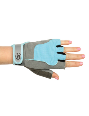 Fitness-Mad Women's Cross Training & Fitness Gloves Blue