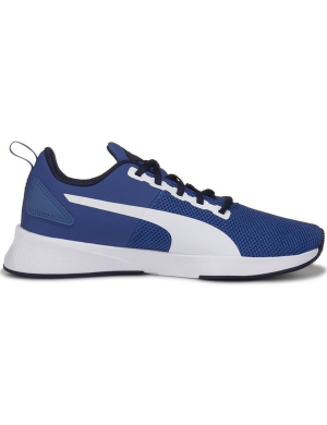 Puma Flyer Runner Jnr Royal/White