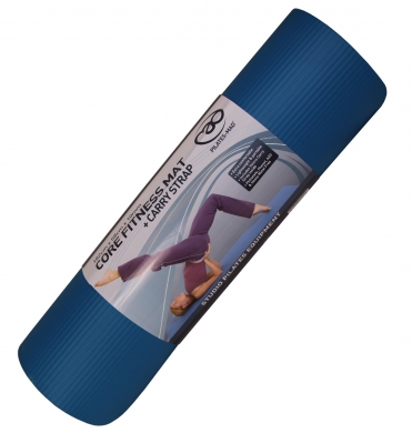 Fitness-Mad Core Fitness Mat with Carry Strap 10mm