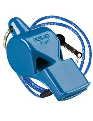 Fox 40 Pearl Safety Whistle with Lanyard Royal