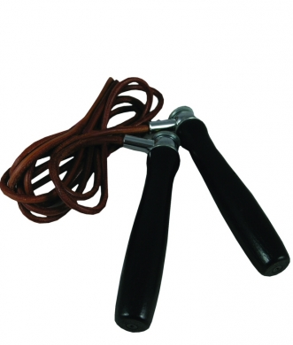 Fitness-Mad Leather Jump  Rope