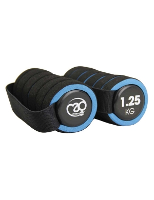 Fitness-Mad Pair of 1.25Kg Pro Handweights