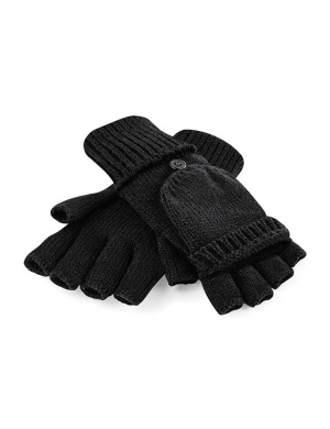 Beechfield Fliptop Gloves Black