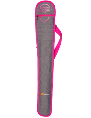 Grays G1000 Stick Bag Grey/Pink