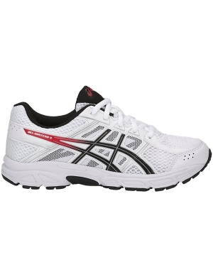 Asics Gel-Contend 4 White/Onyx/Classic Red