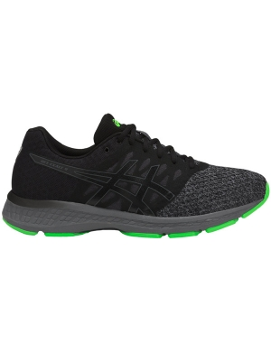 Asics Gel-Exalt 4 Black/Carbon/Green Gecko