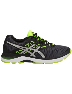 Asics Gel-Pulse 9 Carbon/Silver/Safety Yellow