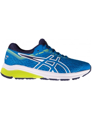 Asics GT-1000 7 GS Race Blue/Neon Lime