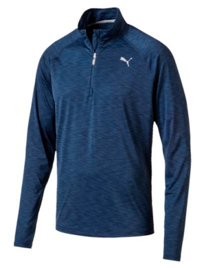 Puma Core Run 1/2 Zip Long Sleeve Top Sargasso Sea