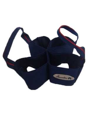 Henselite Bowls 4 Bowl Carrier Navy