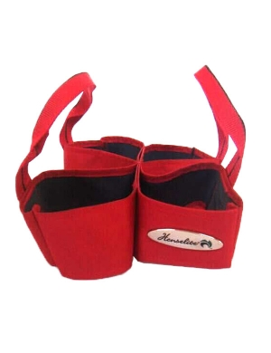 Henselite Bowls 4 Bowl Carrier Red